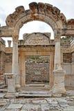 De tempel van Hadrian Stock Foto