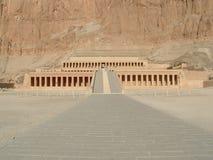 De Tempel van Hatchepsuts Royalty-vrije Stock Afbeelding
