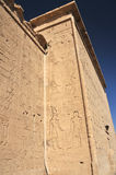De Tempel van Hathor stock fotografie