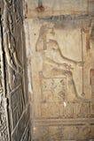 De Tempel van Hathor Royalty-vrije Stock Foto's