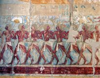 De Tempel van Hatshepsut Royalty-vrije Stock Fotografie