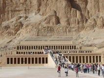 De tempel van Hatshepsut Stock Fotografie