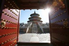 De tempel van Hemel Stock Foto's