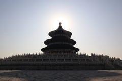 De tempel van hemel in Peking Royalty-vrije Stock Foto