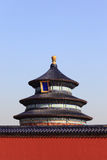 De tempel van hemel in Peking Stock Foto