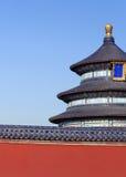 De tempel van Hemel in Peking Royalty-vrije Stock Afbeeldingen
