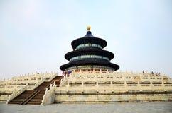 De tempel van hemel in Peking, China stock afbeelding