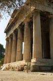 De tempel van Hephaestus Royalty-vrije Stock Afbeelding
