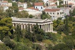 De tempel van Hephaestus Royalty-vrije Stock Foto
