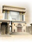 De Tempel van Herodian stock illustratie