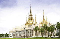 De Tempel van het boeddhisme royalty-vrije stock afbeelding