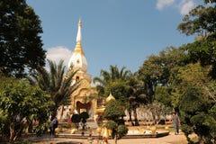 De tempel van het boeddhisme in Thailand stock foto