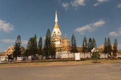 De tempel van het boeddhisme in Thailand stock afbeelding