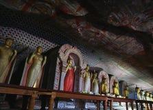 De tempel van het Dambullahol Stock Foto's