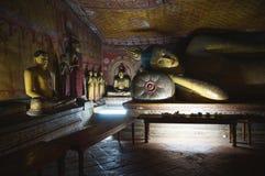 De tempel van het Dambullahol Royalty-vrije Stock Afbeelding