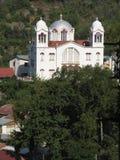 De tempel van het dorp Stock Afbeeldingen