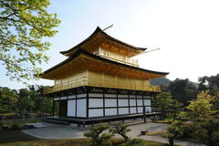 De tempel van het Gouden Paviljoen Royalty-vrije Stock Foto