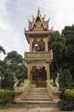 De tempel van het het Holhol van Thampla in het noorden van chiangrai van Thailand Stock Foto
