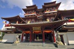 De Tempel van het Overblijfsel van de Tand van Boedha, Singapore stock afbeeldingen