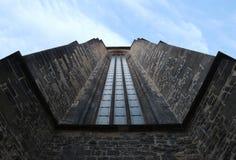 De tempel van het venster Stock Afbeeldingen