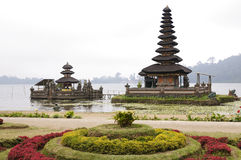 De tempel van het water Stock Afbeelding