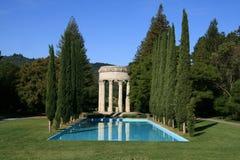 De Tempel van het Water van Pulgas stock afbeeldingen