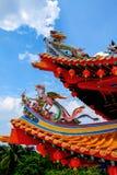 De Tempel van Hou van Thean in Kuala Lumpur, Maleisië stock fotografie