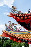 De Tempel van Hou van Thean in Kuala Lumpur, Maleisië royalty-vrije stock foto's