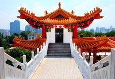De Tempel van Hou van Thean in Kuala Lumpur, Maleisië stock afbeeldingen
