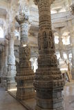 De Tempel van India Ranakpur Stock Foto