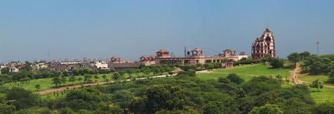 De tempel van ISKCON Delhi Royalty-vrije Stock Afbeeldingen