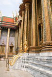 De tempel van jadeboedha in Bangkok, Thailand Royalty-vrije Stock Foto