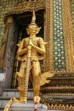 De tempel van jadeboedha in Bangkok, Thailand Stock Foto's