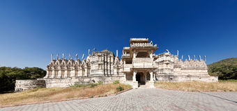 De Tempel van Jain in Ranakpur, India Royalty-vrije Stock Fotografie