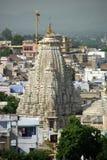 De tempel van Jain in Udaipur, Rajasthan Royalty-vrije Stock Fotografie
