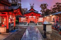 De tempel van Japan Stock Foto's