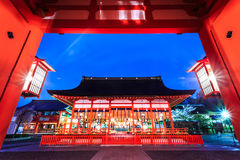 De tempel van Japan royalty-vrije stock afbeelding