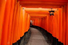 De tempel van Japan Stock Foto