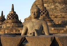 De tempel van Java Stock Afbeeldingen