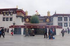 De tempel van Jokhang Royalty-vrije Stock Afbeeldingen