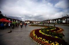 De Tempel van Jokhang in Lhasa, Tibet, China Royalty-vrije Stock Foto
