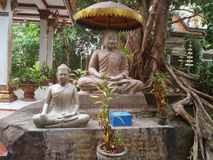 De tempel van Kambodja sihanoukville royalty-vrije stock foto