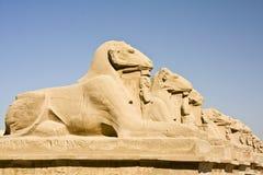 De tempel van Karnak royalty-vrije stock afbeelding