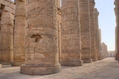 De tempel van Karnak royalty-vrije stock afbeeldingen