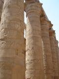 De tempel van Karnak. Stock Afbeelding