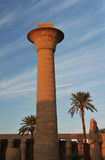De Tempel van Karnak Royalty-vrije Stock Foto's