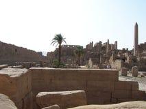 De tempel van Karnak Stock Fotografie
