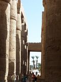 De tempel van Karnak Royalty-vrije Stock Fotografie