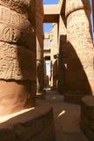 De tempel van Karnak - Egypte Royalty-vrije Stock Foto