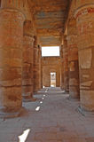 De Tempel van Karnak, Egypte Stock Fotografie